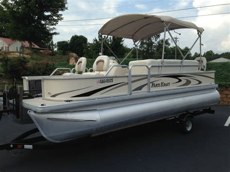 parti kraft pontoon boat covers godfrey parti kraft 2006 for sale for 5 000 boats from
