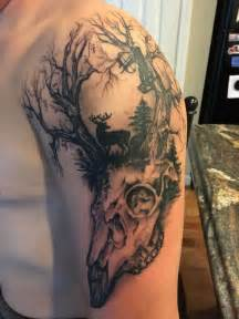camo bow tattoo 29 best hunting shoulder tattoos for guys images on