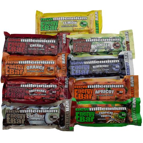 9 meal variety pack of emergency cing survival food energy bar rations ebay
