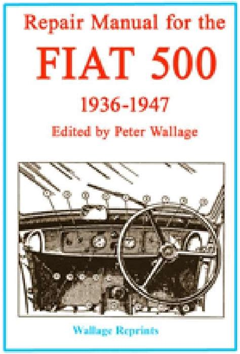 the merchant marine manual classic reprint books repair manual for the fiat 500 1936 1947 9781841470566