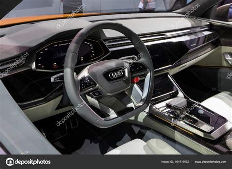 Immagini Interni by Nuova Audi Q8 Interni Auto Foto Editoriale Stock 169 Foto
