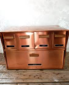 Copper Kitchen Canisters antique copper bread box and canister drawers krestline