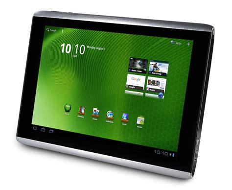 Tablet Iconia Acer acer iconia tab a500 gets priced dated for us launch