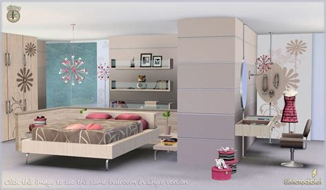 my sims 3 petala bedroom and decor by simcredible - Sims 3 Room
