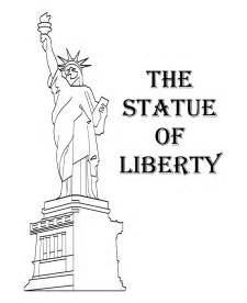 what color is the statue of liberty free printable statue of liberty coloring pages for