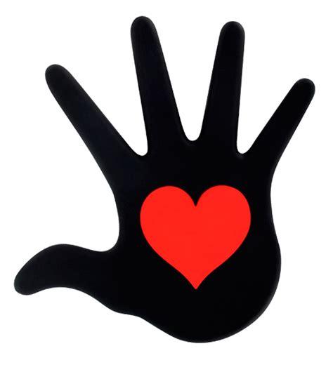 le cœur sur la main heatproof mat pylones