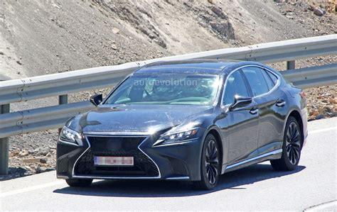 Lexus Ls F Spyshots 2019 Lexus Ls F Spotted Could Pack Turbo