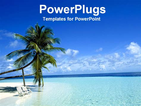 best photos of beach powerpoint template beach theme