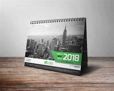 desk calendar template psd 2018 desk calendar 2018 by zakirhossen graphicriver