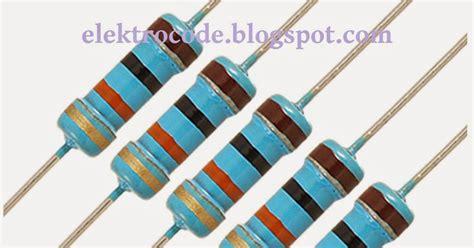 jenis fixed resistor fixed resistor adalah 28 images my resistor hobi oprek elektronika mengukur dan mengenal
