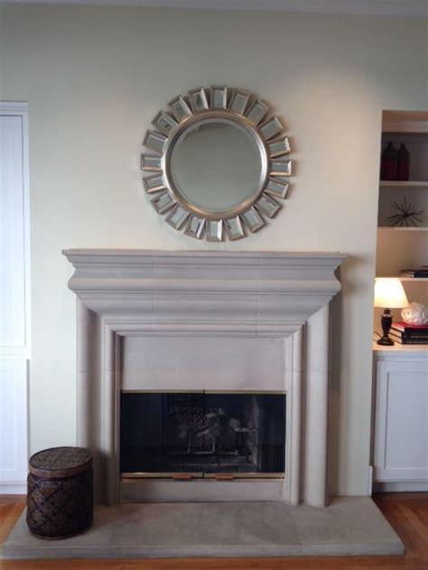 Sunburst Mirror Above The Fireplace Home Pinterest Mirror Above Fireplace