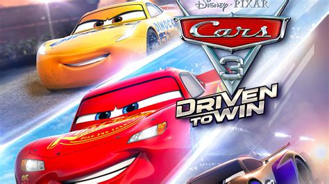 cars 3 driven to win coming to the switch and the wii u