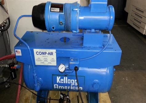lot 40 kellogg american hydrovane air compressor wirebids