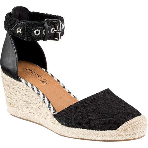 sperry top sider valencia wedge shoe s