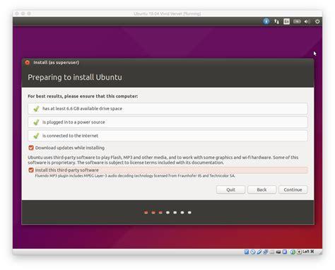 how to install ubuntu on macbook how to install ubuntu on your mac using virtualbox