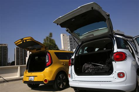Kia 500l Fiat 500l And Kia Soul Comparison Hoy
