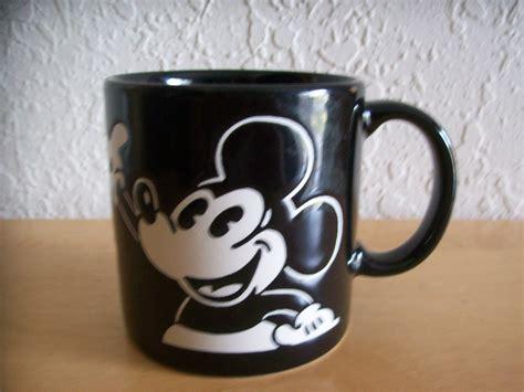 Mug Keramik Tema Mickey Mouse disney mickey mouse black coffee mug mugs glasses