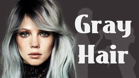 pelo gris corto 2016 granny hair youtube