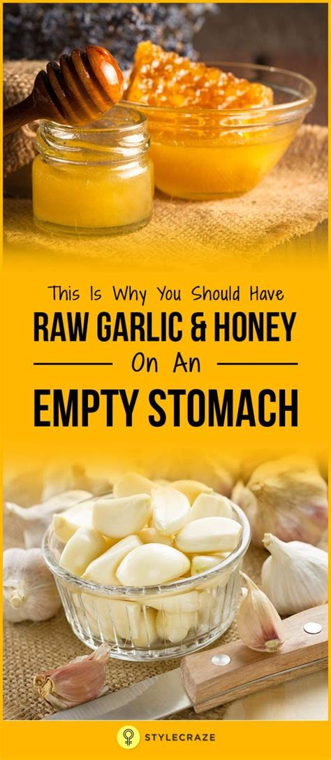 Organic Honey And Garlic Detox by This Is Why You Should Garlic And Honey On An