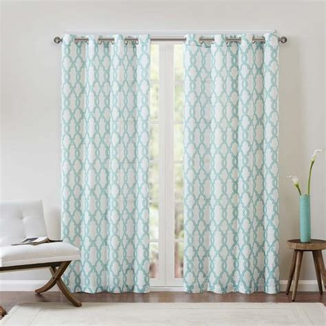 fretwork curtains threshold farrah fretwork window panel i target