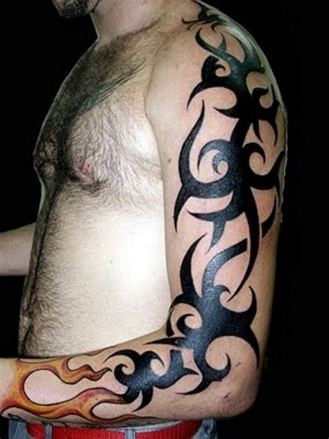 tribal tattoo full arm tribal arm designs ideas mag