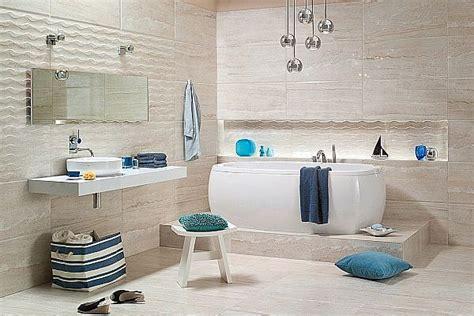 Bathroom Decor Blue Morski Wystr 243 J łazienki Z Płytkami Z Kolekcji Realle
