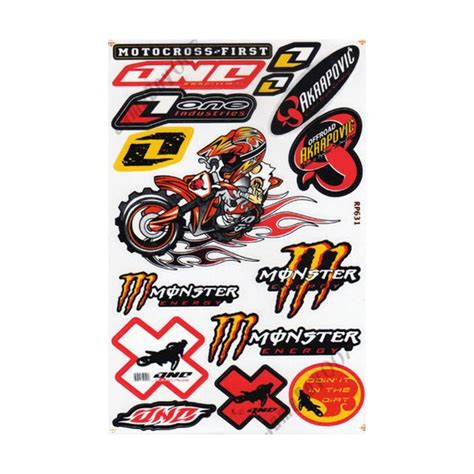 Sticker Tuning Para Motos by Stickers Para Tuning De Motos Imagui