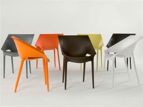 sedie moderne colorate chaise kartell et le kartell pour une d 233 co moderne