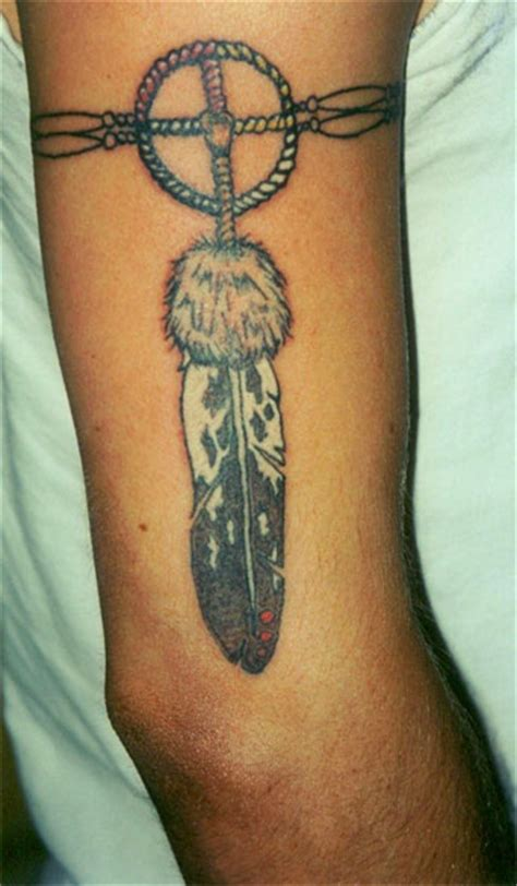 indian feather tattoos american feather armband skin