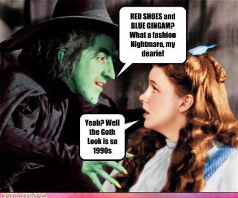 Wizard Of Oz Meme - just gothy things sunday memes