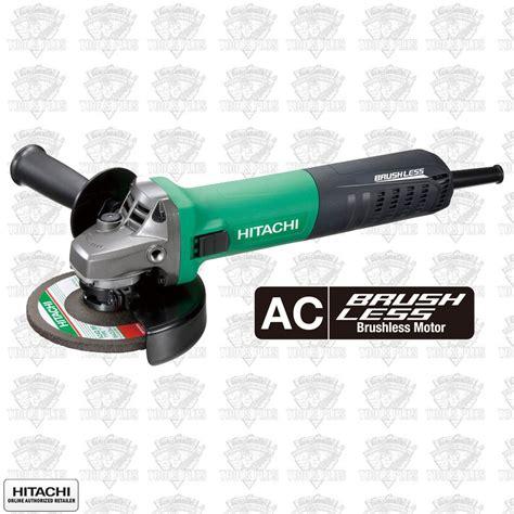 Ac 1 2 Pk Hitachi hitachi g12ve 4 1 2 ac brushless angle grinder