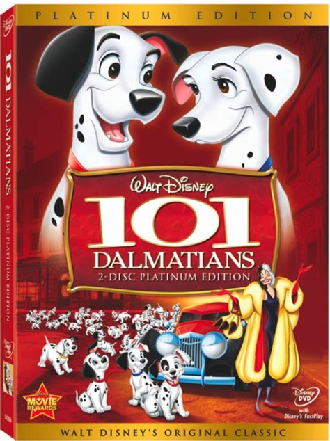 Disney S 101 Dalmatians contest 101 dalmatians on dvd babies