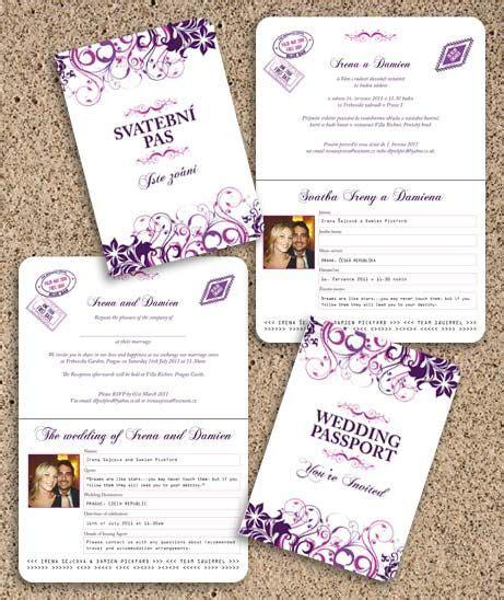 passport wedding program template new passport wedding program template free template design
