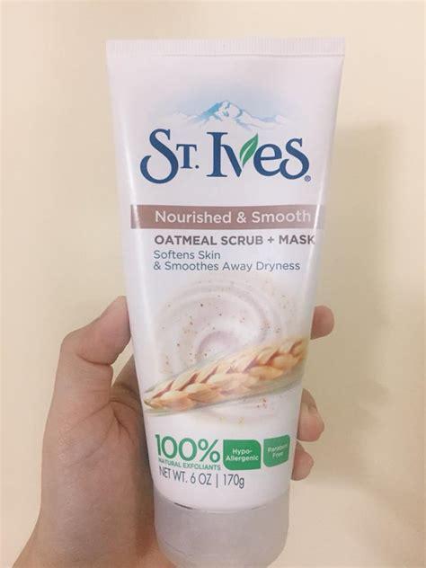 Scrub Muka rawat kulit breakout dengan produk drugstore pada