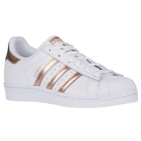 adidas s superstar originals shoes sneaker white metallic copper gold ebay