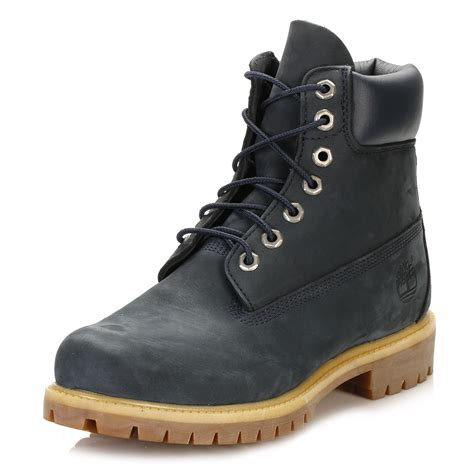 timberland mens leather boots timberland mens classic boots 6 inch waterproof lace up