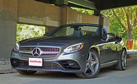 mercedes benz slc  roadster review autoguidecom