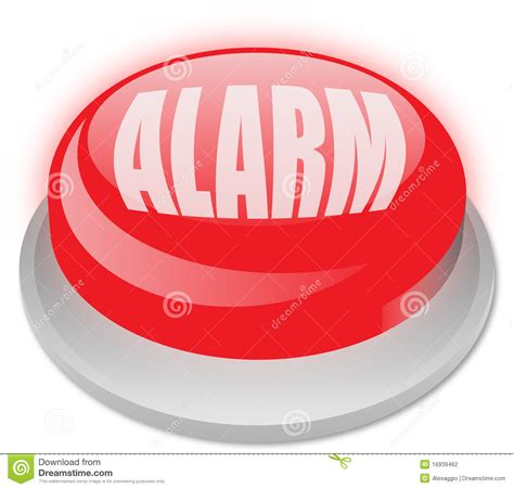 alarm button stock photography image