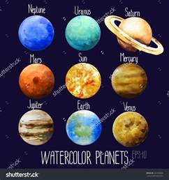 planets colors 25 best ideas about planet drawing on