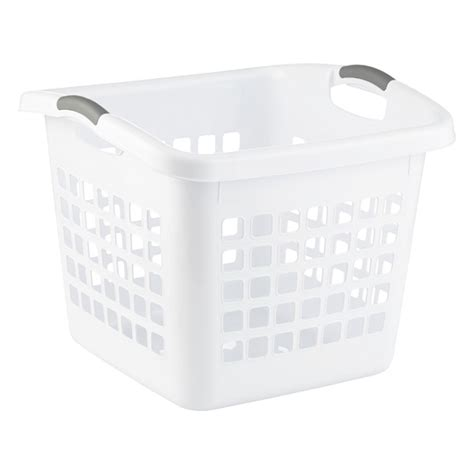 Ultra Square Laundry Basket The Container Store Square Laundry