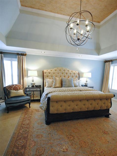 pictures  dreamy bedroom chandeliers hgtv