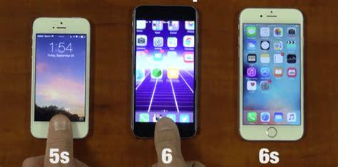 comparaci 243 n de velocidad touch id entre iphone 5s 6 y 6s