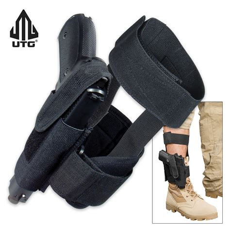 ankle knife holster m48 ops concealed ankle holster black kennesaw cutlery