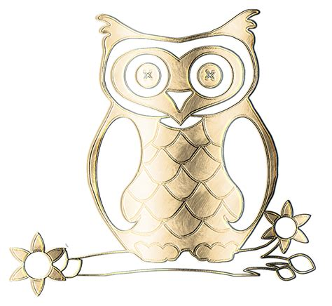 Owl Gold free illustration owl metal gold texture graphic
