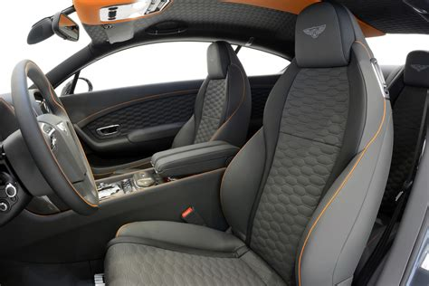 orange bentley interior startech turns up the visual power with the bentley