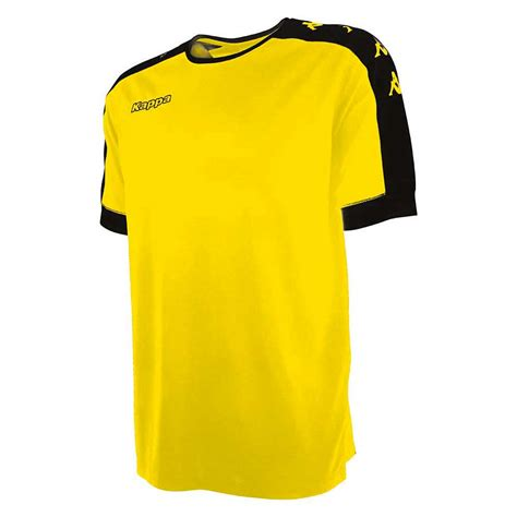 Kappa Tanis Jersey M kappa tanis jersey ss yellow soleil buy and offers on goalinn
