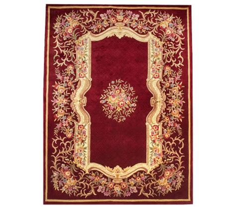 Place Rugs by Royal Palace Formal Garden 9 X 12 Handmade Wool Rug