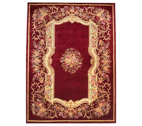 royal palace rug royal palace formal garden 9 x 12 handmade wool rug page 1 qvc