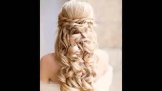 Los peinados de novia m 225 s lindos youtube