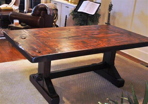 rustic trestle dining table rustic trestle dining table tedx designs the vintage